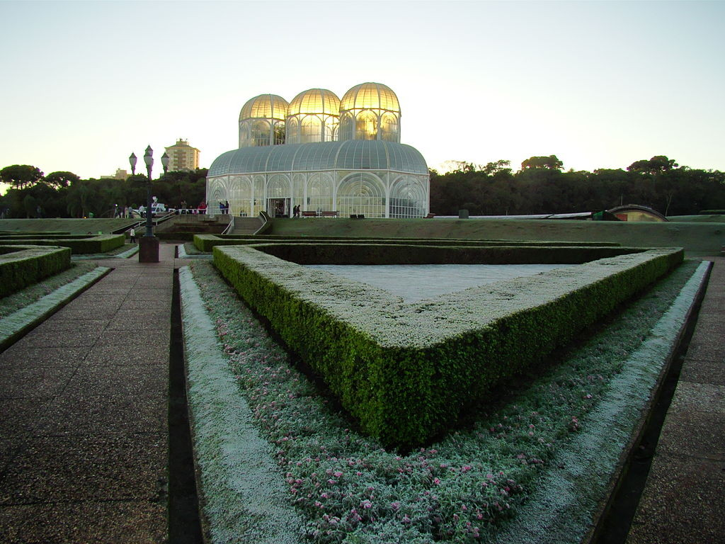 Jardim Botânico no inverno