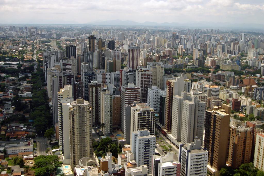Visão aérea / Curitiba, Brazil